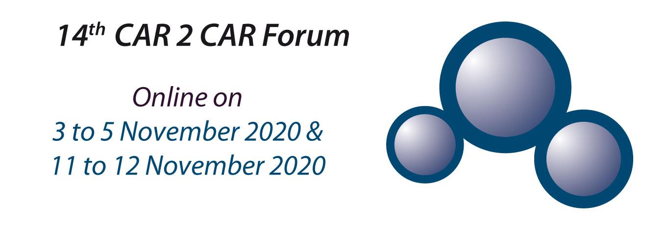 Jahrestagung des CAR 2 CAR Communication Consortiums findet online statt