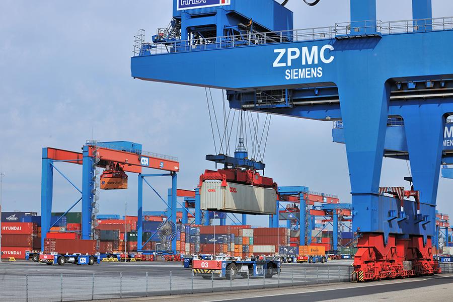 Containerterminal Altenwerder 07