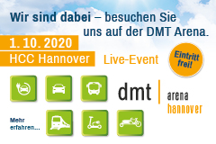 ITS mobility bei der dmt Arena 2020