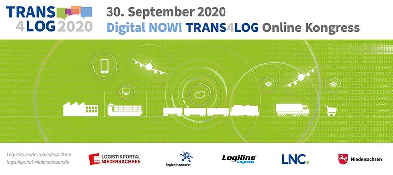 Trans4Log-Kongress 2020 – Digital NOW! am 30.09.2020